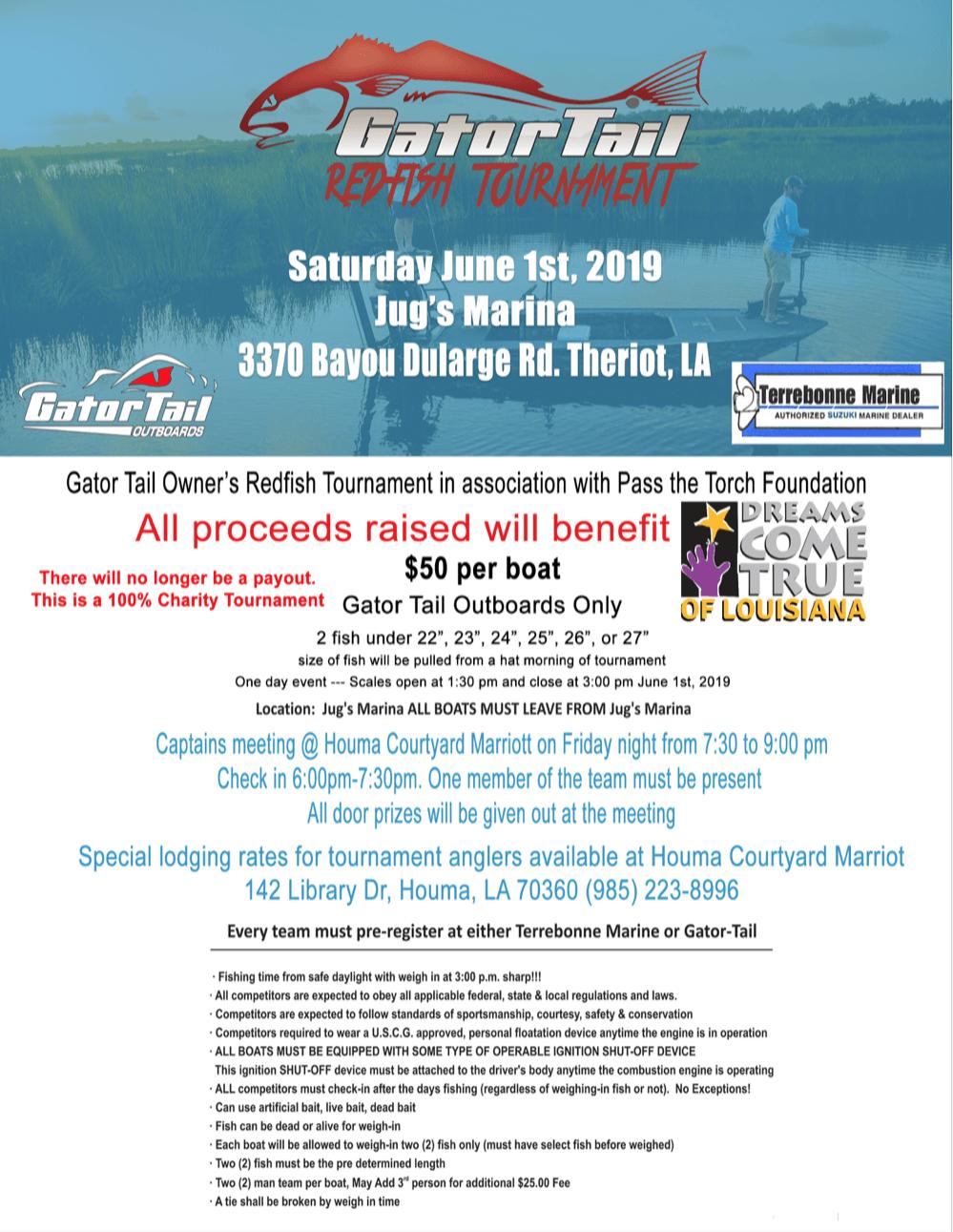 GatorTail Redfish Tournament 2019